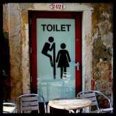 porte-toilettes