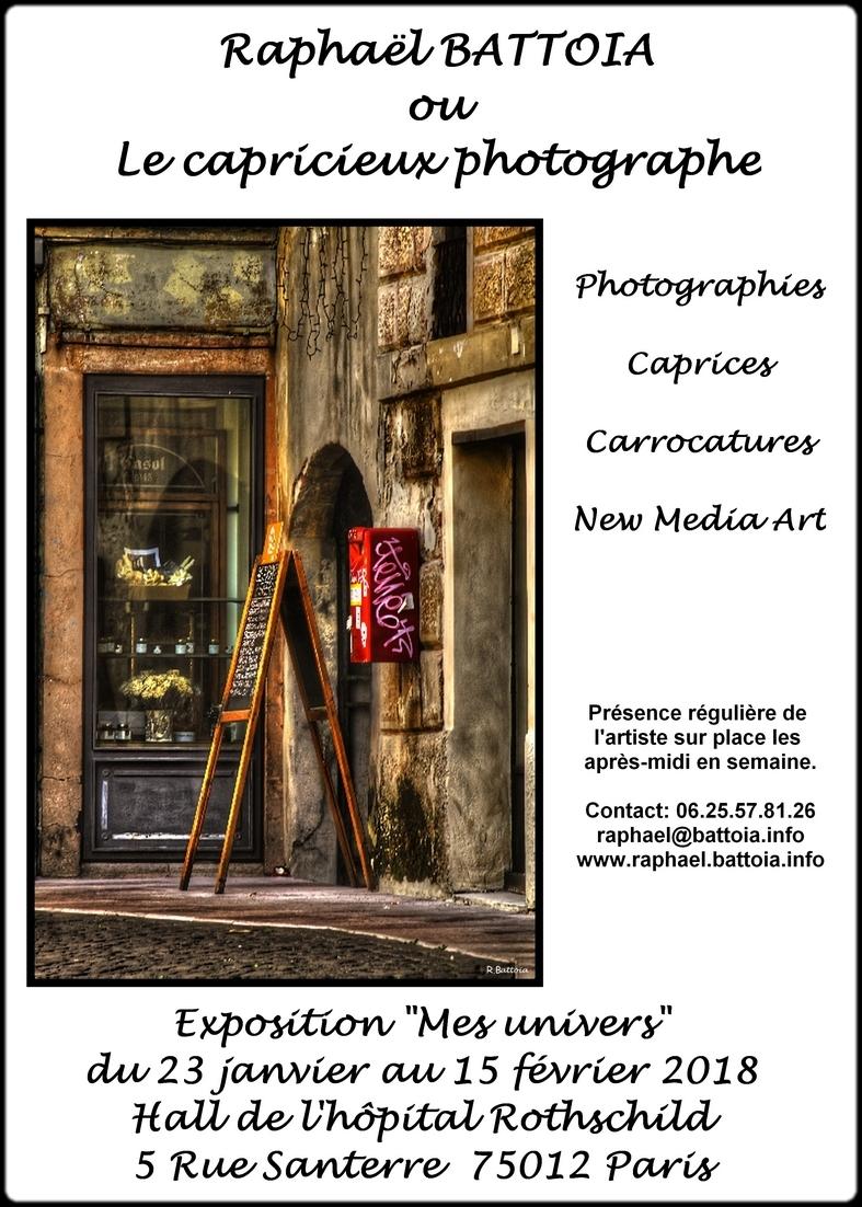 Affiche expo H.Rothschild 022018