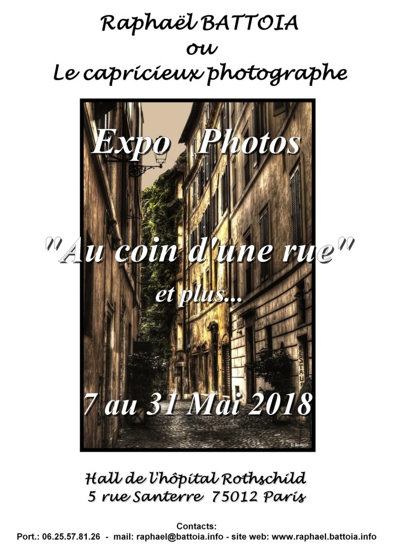 Expo Hôpital Rothschild du 7 au 31 Mai 2018